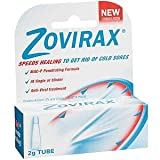 Zovirax Cold Sore Cream 3x2g Pumps