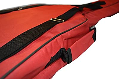 RED PADDED GUITAR BAG (38 inches)