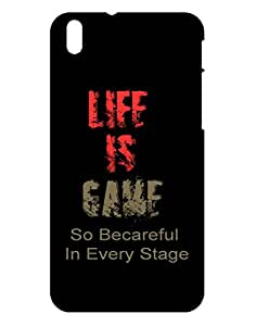 Crackndeal Back Cover for HTC Desire 816