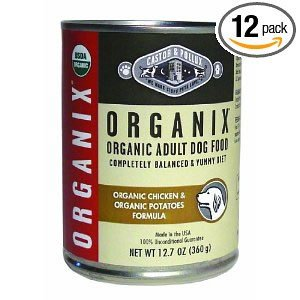 Organix Organic Chicken and Potatoes Canned Canine Formula Dog Food, 12.7-Ounce Cans (Pack of 12) ( Value Bulk Multi-pack)