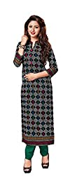 AMP IMPEX Ethnicwear Women's Dress Material Multi-Coloured Free Size