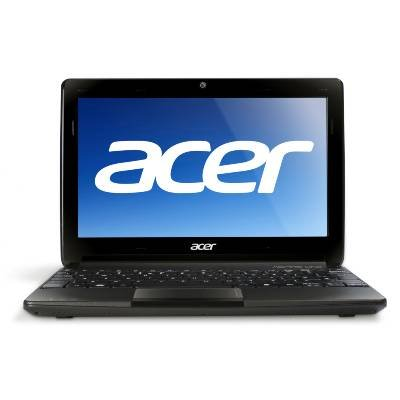 Acer AOD270-1375 10.1 LED Notebook Intel Atom N2600 1.60GHz 1GB DDR3 320GB HDD Intel GMA 3650 802.11b/g/n Windows 7 Starter Espresso black