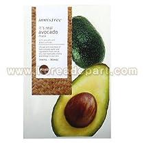 Innisfree real mask avocado (5 Sheets)