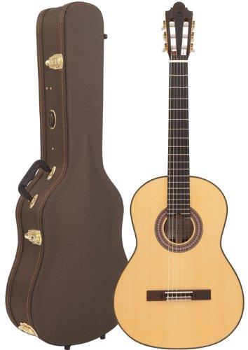 santos-martinez-sm2000rb-raymond-burley-modelo-de-la-firma-de-la-guitarra-clasica-y-la-caja