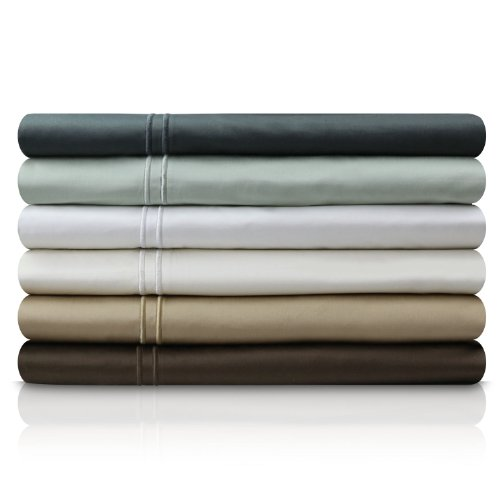 Malouf Fine Linens® 400 Thread Count GENUINE EGYPTIAN COTTON Single Ply Bed Sheet Set