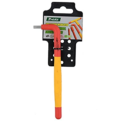 Proskit HW-V805 VDE 1000V Insulated Hex Key Wrench (5mm)