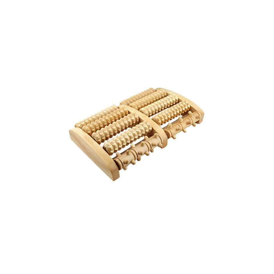 Wooden Roller Relief Stress Foot Massager