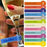 Fred & Friends WINE LINES Drink Markers - Reviews, Set of 12