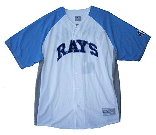 Evan Longoria #3 Tampa Bay Rays Adult Size 2X-Large 2XL Jersey - XXL Blue & White