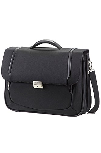 "Samsonite Cartella X'blade Business 2.0 Briefcase 2 Gussets 16"" 17 liters Nero (Black) 57811-1041"