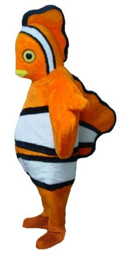 Clown Fish Lightweight Mascot Costume