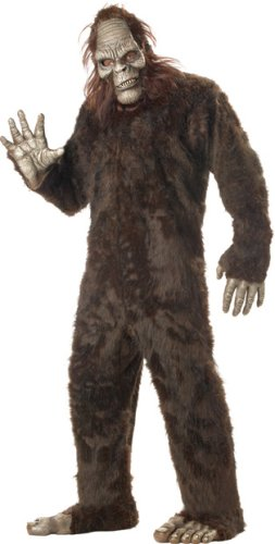 Adult Men's Deluxe Bigfoot Halloween Costume