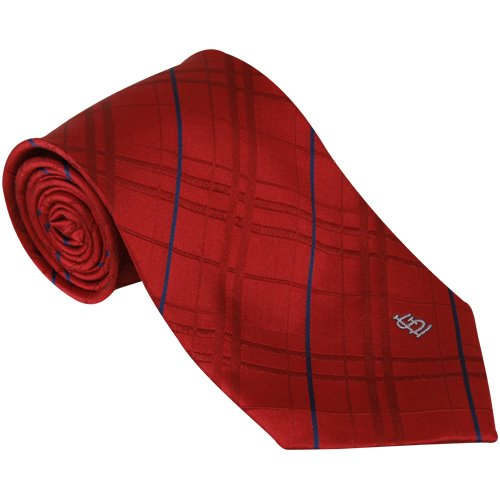 MLB St. Louis Cardinals Red Oxford Woven Tie at Amazon.com
