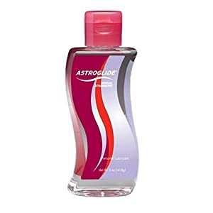 Astroglide Personal Lubricant, Sensual Strawberry, 5-Ounce Bottles