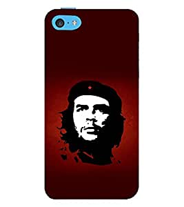 Vizagbeats Che Guevara Back Case Cover for Apple iPhone 5C