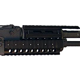 JEMT Brand Model 47 Mount K-Rail, Black - AK-K-Rail-Model-European Euro Tight Fitment Top, Bottom, Left, and Right accessory mount