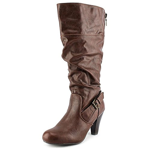 G By Guess Randall Wide Calf Women US 7.5 Brown Mid Calf Boot