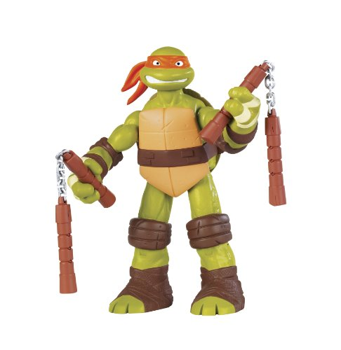 "2012 SDCC Exclusive Teenage Mutant Ninja Turtles Turtles TMNT 11"" Figure Michaelangelo Nickelodean"