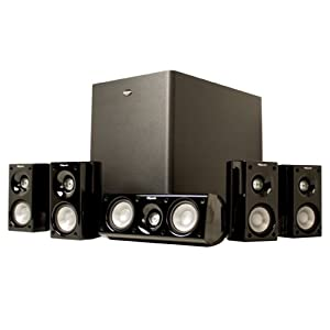 Klipsch HD 500 Compact 5.1 Home Theater System (Set of Six, Black)