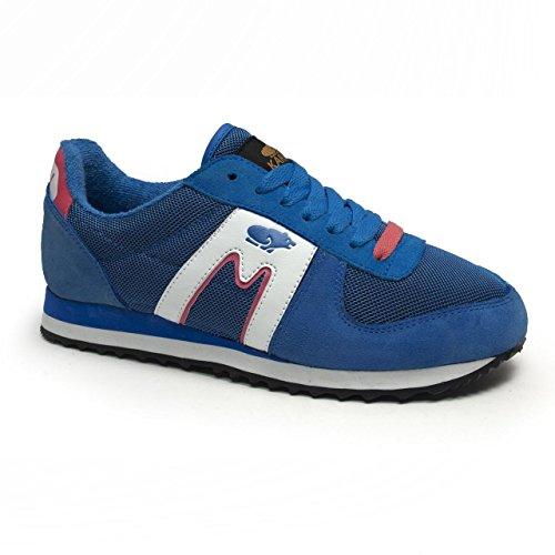 Karhu FS - Zapatillas deportivas para mujer, color negro / turquesa / blanco / morado, Azul / Rosa, 39