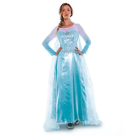 Disney D23 Official Queen Elsa Adult Costume Size 10 Limited Edition 1 of 150