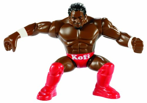 WWE Power Slammers Kofi Kingston Figure