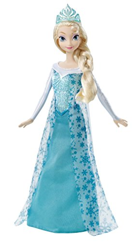 Disney Frozen Sparkle Princess Elsa Doll Review