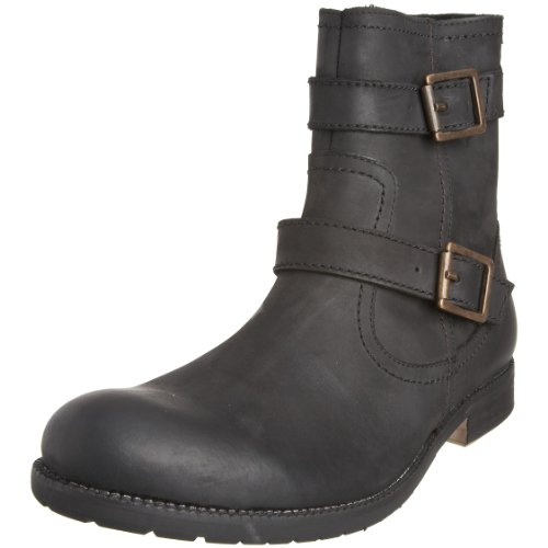 Ben Sherman Men's Rtav Buckle Black Pull On Boot 4702010 8 UK