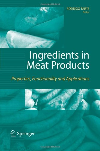 Ingredients in Meat Products: Properties, Functionality and...