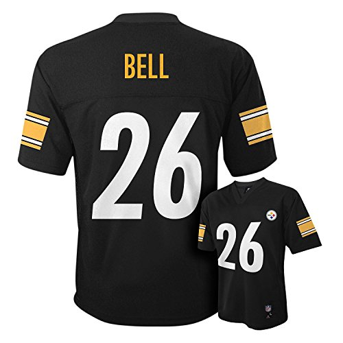 Leveon Bell Pittsburgh Steelers #26 Black NFL Infants Home Mid Tier Jersey
