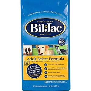 Bil-Jac Select Dry Dog - 6 lb
