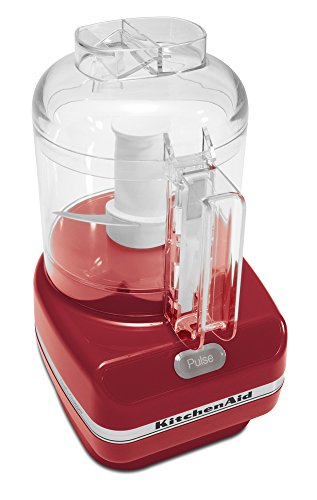 KitchenAid KFC3100ER Chef Series 3-Cup Food Chopper, Red (Kitchen Aid Food Processor Mini compare prices)