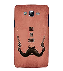 Fuson Premium Back Case Cover Fear the stage With Brown Background Degined For Samsung Galaxy Grand i9080:::Samsung Galaxy Grand i9082