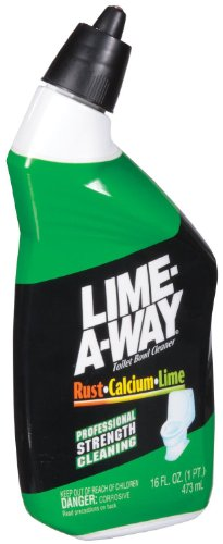Lime Away Toilet Bowl Cleaner, Destroys Lime Calcium Rust..16 Oz. (2 Pack)