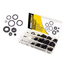 MAXCRAFT by MIT 7713 O-Ring and Rubber Grommet Assortment, 195-pc.