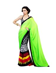 Triveni Beautiful Office Wear Printed Fancy Saree 413a