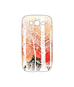 Vogueshell Snow Pattern Printed Symmetry PRO Series Hard Back Case for Samsung Galaxy Grand