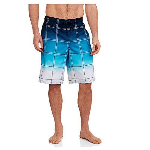 op-mens-gradient-plaid-e-board-swimming-trunks-shorts-x-large-aqua-blue