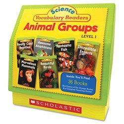 science-vocabulary-readers-animal-groups-26-books-16-pages-and-teaching-guide-sold-as-1-each