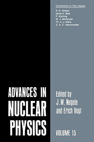 Advances in Nuclear Physics: Volume 15