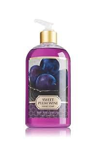 Bath & Body Works Sweet Plum Wine Hand Soap, 16oz
