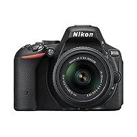 Nikon デジタル一眼レフカメラ D5500 18-55 VRII レンズキット ブラック 2416万画素 3.2型液晶 タッチパネル D5500LK18-55BK