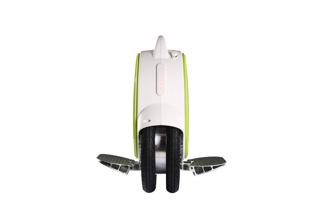Airwheel Q5 bianco-verde, monociclo elettrico per il trasporto personale cittadino