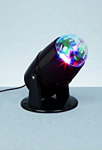 24cm LED Crystal Ball Lamp Disco Lights by Premier Decorations