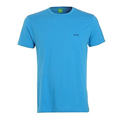 T-shirt 'Tee' with a Round Neckline By Boss Green (S)