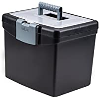 Storex Portable File Box