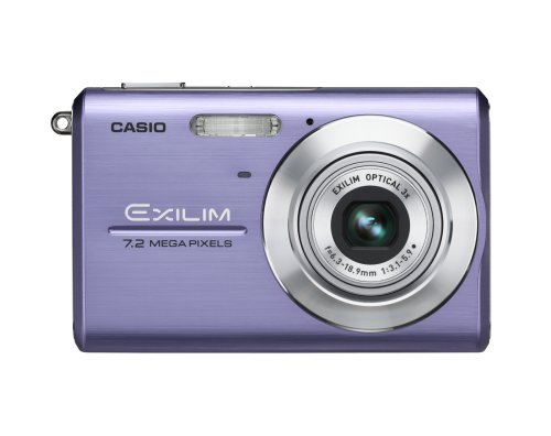 Casio Exilim EX-Z75 7.2MP Digital Camera with 3x Anti Shake Optical Zoom (Blue)