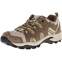 Nevados Women's Sage Low V4166W Hiking Boot,Taupe/Dark Brown/Light Green