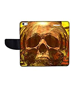 KolorEdge Printed Flip Cover For Apple IPhone 5 Multicolor - (43KeMLogo10361IPhone5)