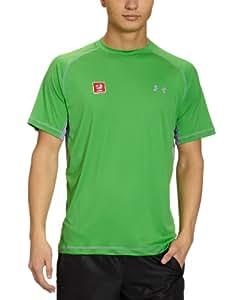 Under armour eU uA cATALYST t-shirt manches courtes pour homme XXL Vert - TRINIDAD / CONCRETE